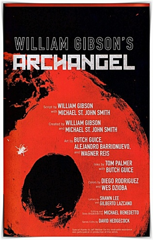 William Gibson Archangel Graphic Novel