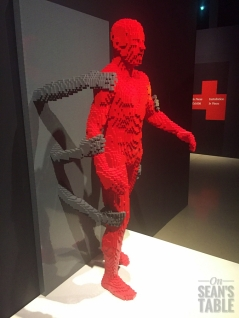 Art of the Brick Lego Exhibit