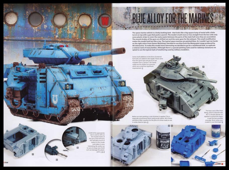 14 AKtion Wargames Techniques Magazine