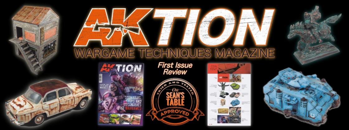 AK Interactive AKtion Wargames Techniques Magazine Review