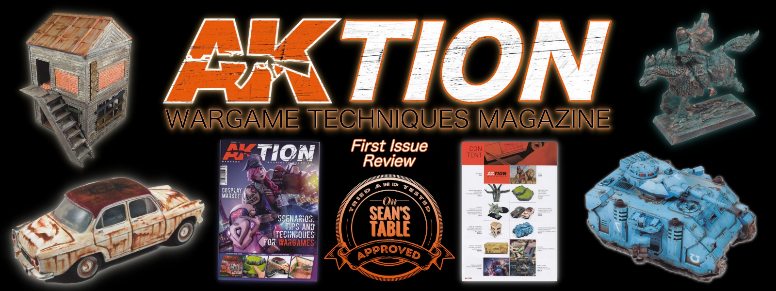 AK Interactive AKtion Wargames Techniques Magazine Review