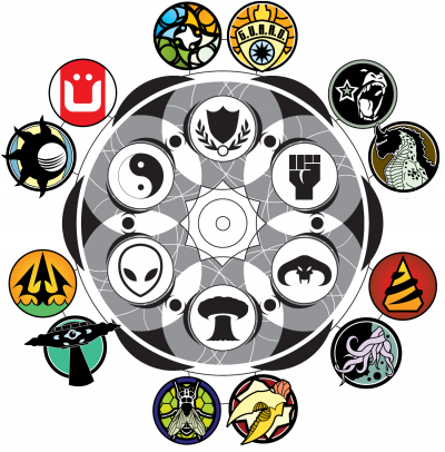 Monsterpocalypse Agenda Faction Icons