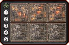 Destroyed Building Tiles MonsterPocalypse