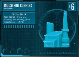 Industrial Complex Stat Card MonsterPocalypse