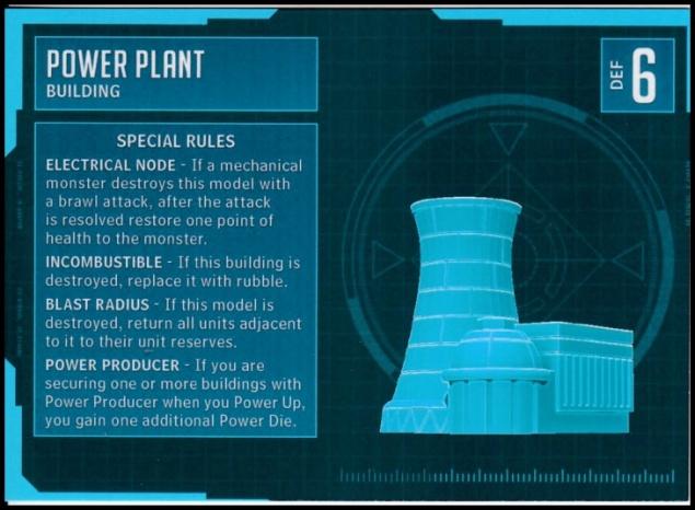 Power Plant Stat Card MonsterPocalypse