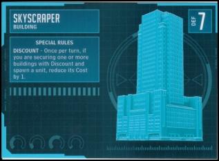 Skyscraper Stat Card MonsterPocalypse
