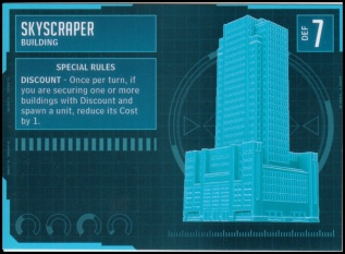 Skyscraper Stat Card MonsterPocalypse