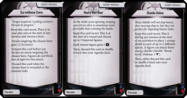 imperial assault heart of the empire influence security protocol cards