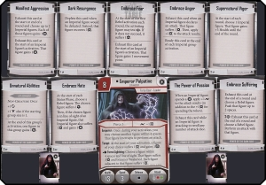 imperial assault heart of the empire Power of the Dark Side class deck