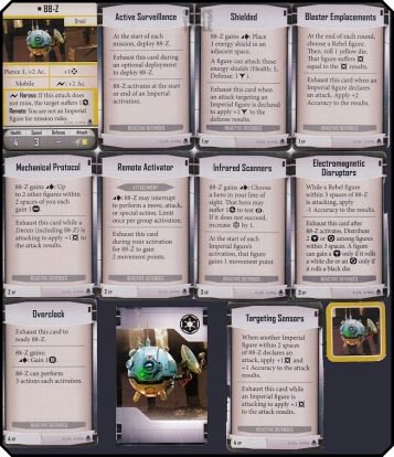 imperial assault heart of the empire reactive defenses class deck