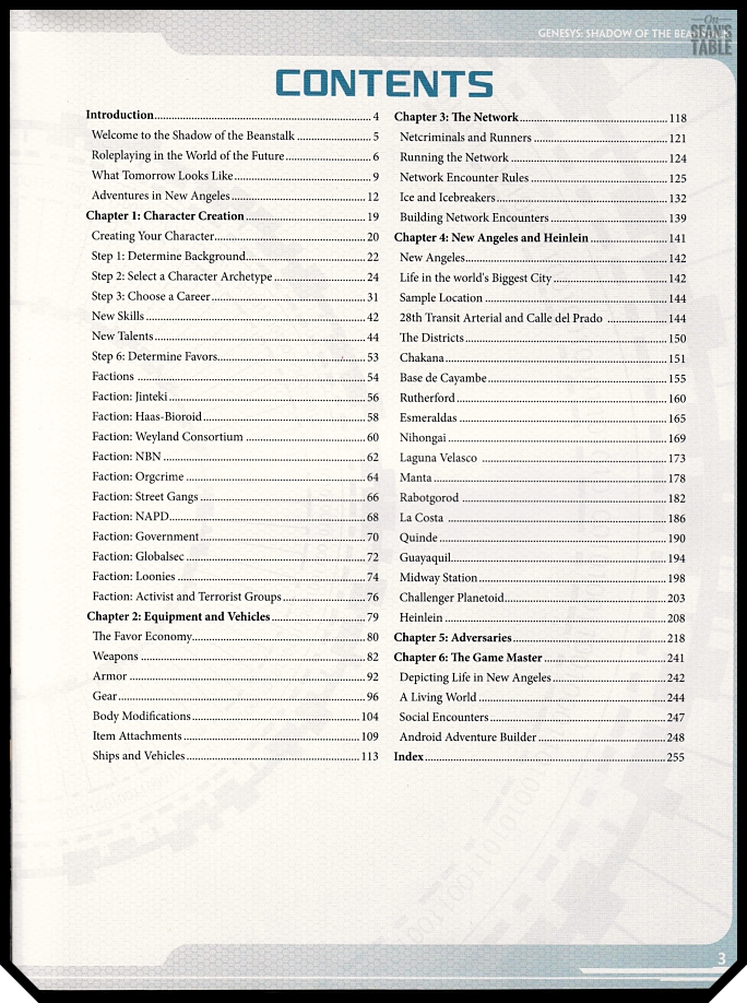 Genesys Android Beanstalk Table Contents