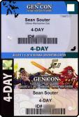 GenCon 2010 2011 Badges