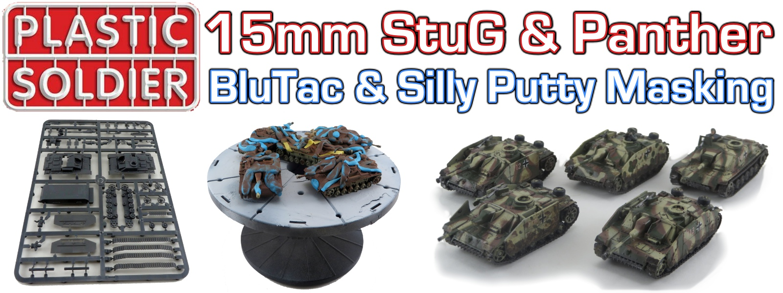 PSC StuG BluTack Masking Featured Image