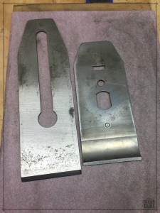 Sharpening a restored Stanley bench plane