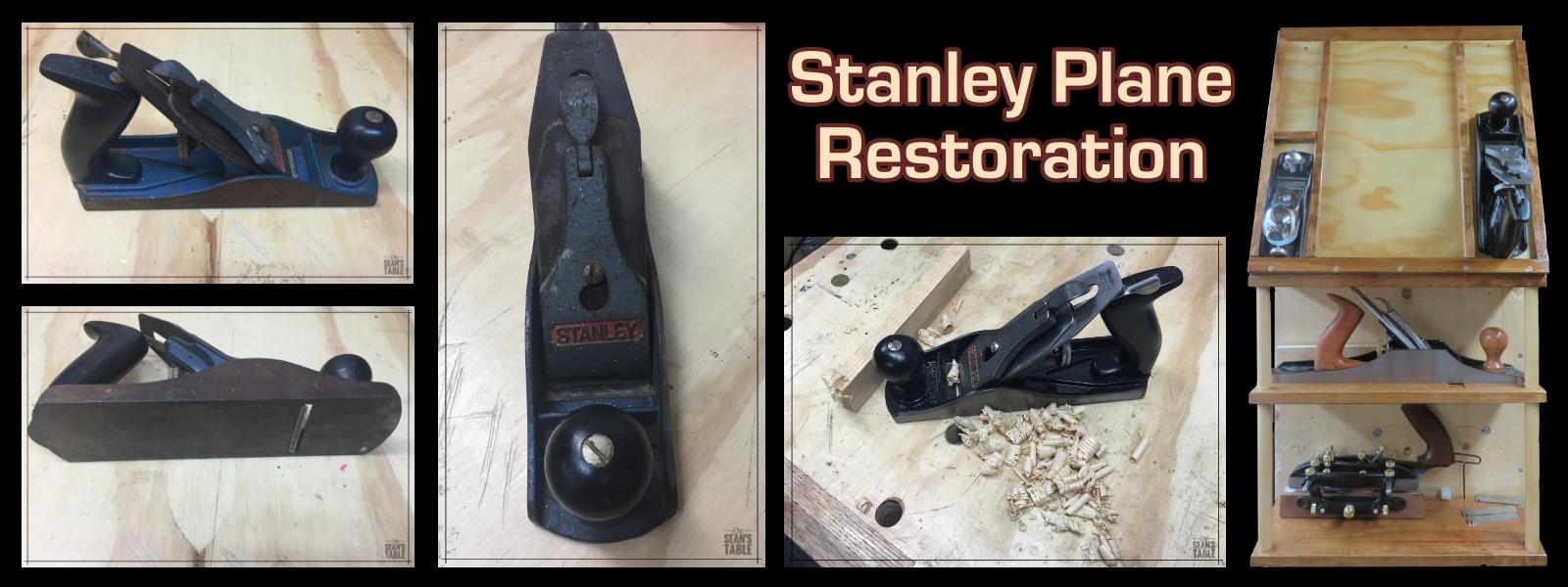 Restoring a Stanley bench plane
